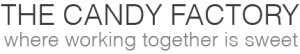 The Candy Factory logo